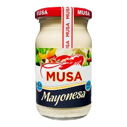 Musa mayonesa de 22,5cl.