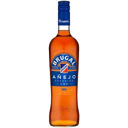 Brugal ron añejo de 70cl.