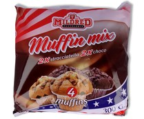 Mildred muffins vainilla chocolate 300 gr