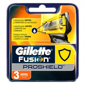 Gillette cargador manual proshield por 3 unidades