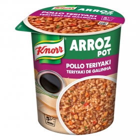Knorr arroz pot pollo teriyaki de 81g.