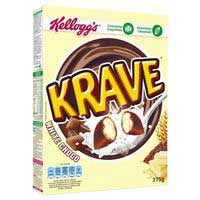 Kelloggs cereales chocolate blanco de 375g.