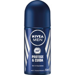 Nivea Men desodorante roll on hombre antitranspirante sin irritaciones for men hombre protege & cuida de 50ml.