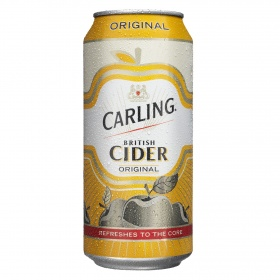 Carling sidra de 44cl.