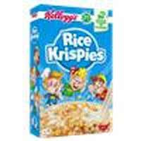 Kelloggs rice krispies de 340g.