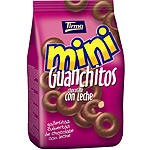 Tirma mini guanchitos galletitas cubiertas chocolate con leche de 125g. en bolsa