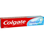 Colgate dentifrico gel azul tubo de 75ml.