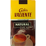 Valiente cafe natural molido de 250g.