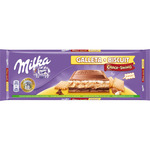Milka choco swing chocolate con galleta tableta de 300g.