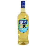 Rives licor melocoton sin alcohol de 70cl. en botella