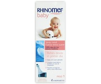 Rhinomer nasal fuerza extra suave 100% agua mar natural isotonica baby de 11,5cl. en spray
