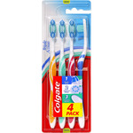 Colgate cepillo dental triple accion blister por 4 unidades
