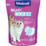Vitakraft magic clean perlas silice gatos de 4,2l. en bolsa