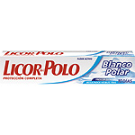 Licor Del Polo pasta dientes blanco polar tubo de 75ml.
