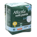 Affective Advanced pañal adulto talla mediana 10u