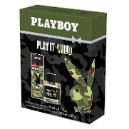 Playboy estuche play it wild colonia desodorante 1 de 50ml. en spray