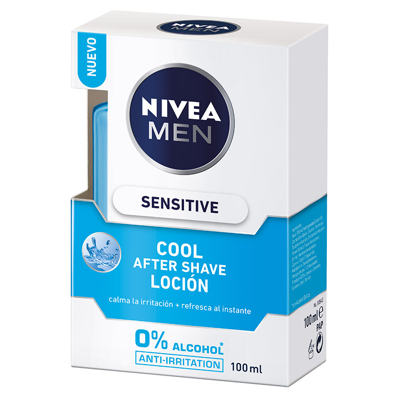 Nivea Men hombre locion sensitive cool de 10cl.