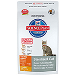 Hill's science plan sterilised young adult pienso gatos jovenes adultos esterilizados con sabor pollo de 3,5kg. en bolsa