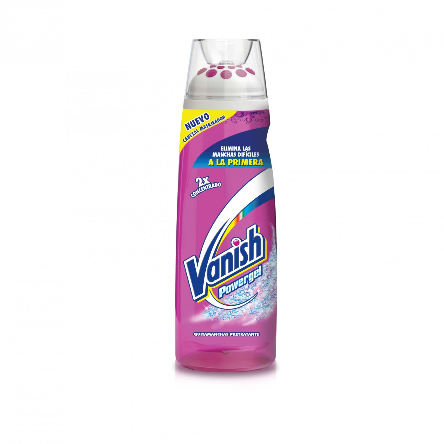 Vanish quitamanchas petrante powergel de 20cl. en botella