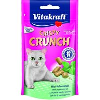 Vitakraft snack crispy crunch dental gatos de 60g.