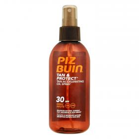 Piz Buin aceite solar tan & protect fp 30 de 15cl. en spray