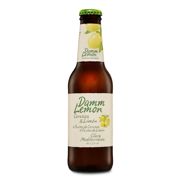 Damm Lemon cerveza lemon con limon de 25cl.