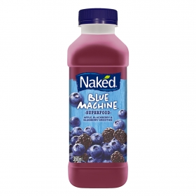 Naked smoothie blue machine de 36cl.