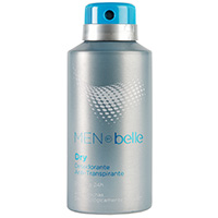 Belle desodorante dry men by de 15cl. en spray