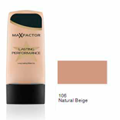 Max Factor base liquida lasting performance 106 natural beige