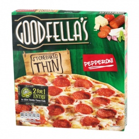 Frico pizza pepperoni goodfellas deeply dan de 434g.