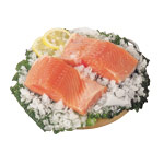 Filete salmon fresco de 150g. por 2 unidades