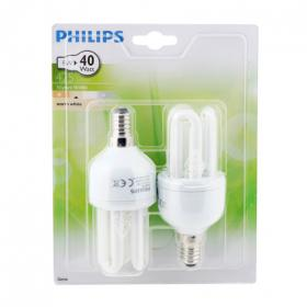Philips 2 bombillas larga duracion 8w e14
