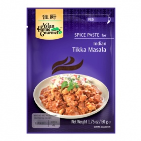 Asian Home Gourmet pasta especia tikka masala asian home de 50g.