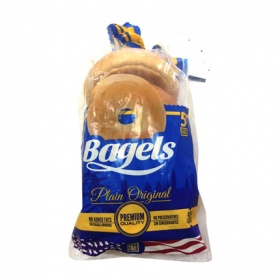 Bagel Nash bagels normal bagels de 460g.