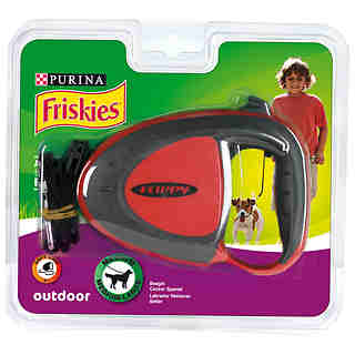 Friskies correa retractil perro mediano outdoor 1 ud