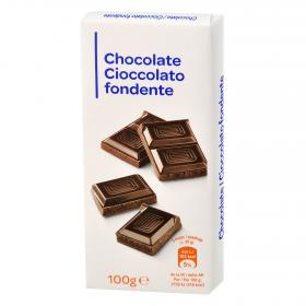 Carrefour Discount chocolate puro de 100g.