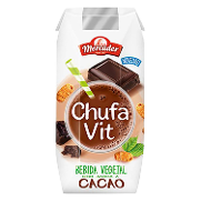 Mercader batido vegetal chufa sabor chocolate de 33cl.