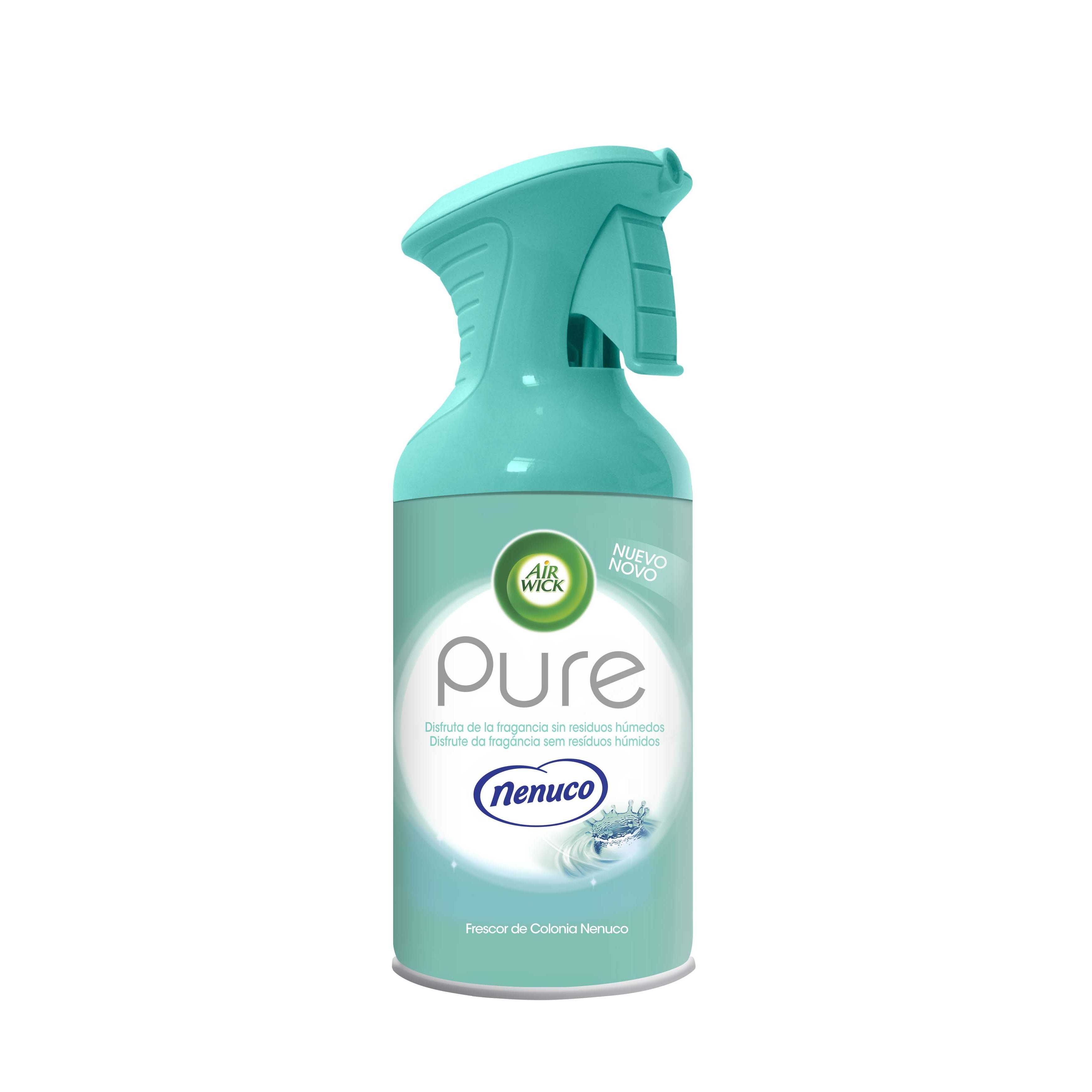 Air Wick ambientador pure nenuco bebe frescor colonia de 25cl. en spray