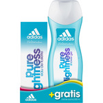 Adidas pure lightness eau toilette natural femenina gel baño 2 gratis de 50ml. en bote