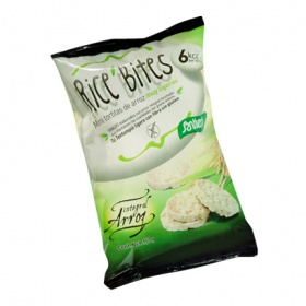 Santiveri mini tortitas arroz rice bites de 100g.