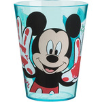 Mickey mouse vaso decorado acrílico de 29,5cl.