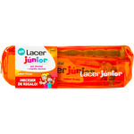 Lacer junior gel dental sabor fresa cepillo dental partir 6 años estuche con neceser regalo