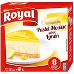 Royal pastel mousse limon de 207g.