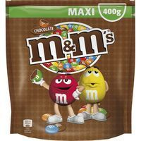 M&m's grageas chocolate de 400g. en bolsa