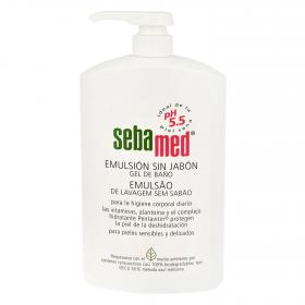 Sebamed gel baño emulsion sin jabon de 10cl.