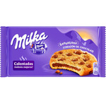 Milka galletas rellenas chocolate con pepitas chocolate cookies sensations 156 gr
