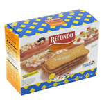 Recondo pan tostado canape cuadrado normal de 100g.