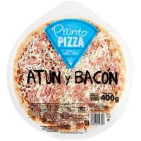 Pronto Pizza pizza atun bacon de 400g.