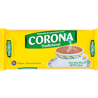 Goya chocolate taza corona tableta de 250g.