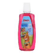 Carrefour Kids enjuague bucal infantil sin alcohol sabor fresa de 50cl. en bote